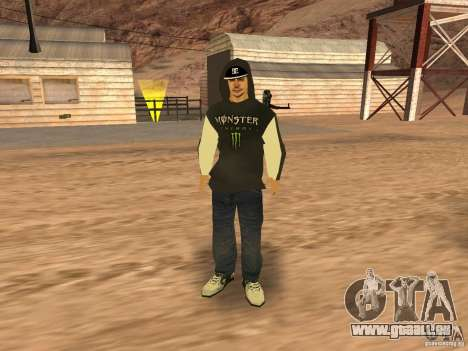 Ken Block Family für GTA San Andreas fünften Screenshot