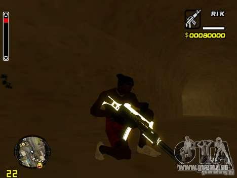 White and Black weapon pack pour GTA San Andreas cinquième écran
