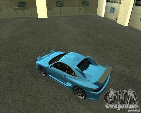 Toyota MR2 1994 pour GTA San Andreas sur la vue arrière gauche