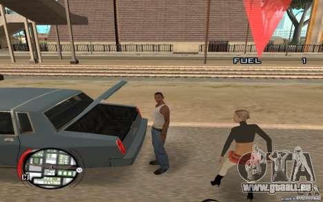 Hide Victim pour GTA San Andreas deuxième écran