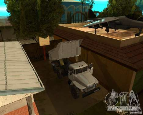 Ural 55571 Kipper für GTA San Andreas