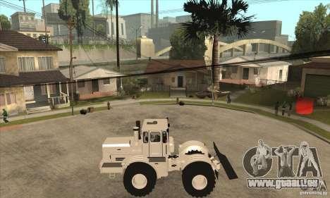 Hauler tracteur KIROVETS K701 pour GTA San Andreas laissé vue