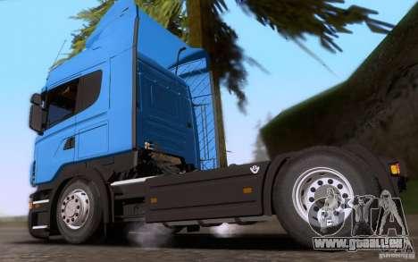 Scania R500 pour GTA San Andreas laissé vue