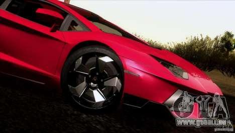 Lamborghini Aventador LP-700 J pour GTA San Andreas laissé vue