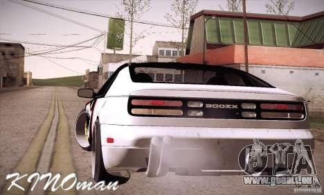 Nissan 300ZX Z32 pour GTA San Andreas laissé vue