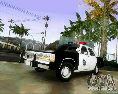 Ford Crown Victoria LTD 1991 SFPD pour GTA San Andreas