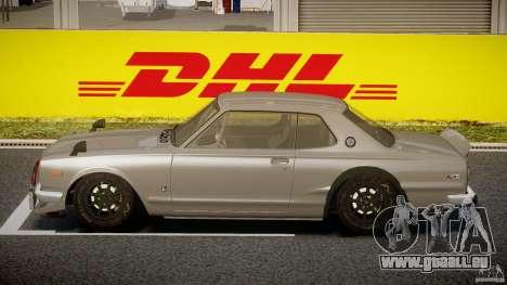 Nissan Skyline Hakosuka (KPGC10) Mountain Drift für GTA 4 linke Ansicht