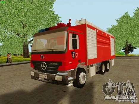 Mercedes Benz Actros Bomberos C1 für GTA San Andreas