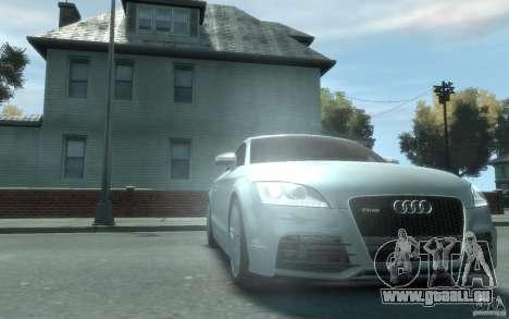 Audi TT-RS pour GTA 4 Vue arrière