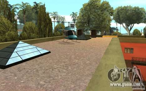 UGP Moscow New Jefferson Motel für GTA San Andreas fünften Screenshot