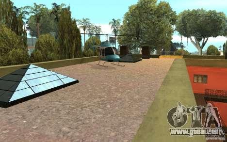 UGP Moscow New Jefferson Motel pour GTA San Andreas cinquième écran