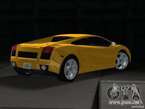 Lamborghini Gallardo für GTA Vice City linke Ansicht
