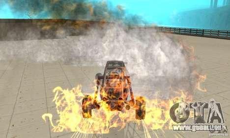 GTA FEATURE BURNOUT FIX 1.2 für GTA San Andreas dritten Screenshot