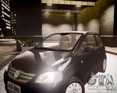 Volkswagen Fox 2011 pour GTA 4 est un droit