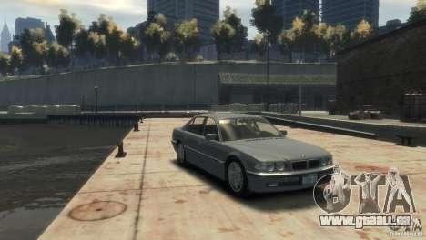 BMW 740i E38 für GTA 4 rechte Ansicht