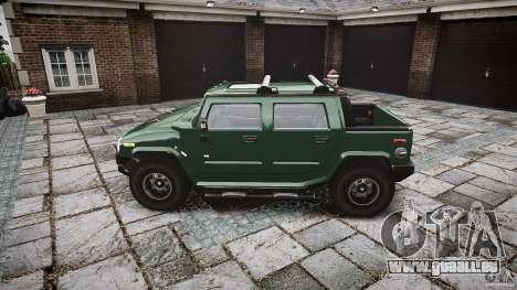 Hummer H2 für GTA 4 linke Ansicht