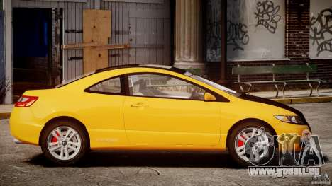 Honda Civic Si Coupe 2006 v1.0 für GTA 4 linke Ansicht