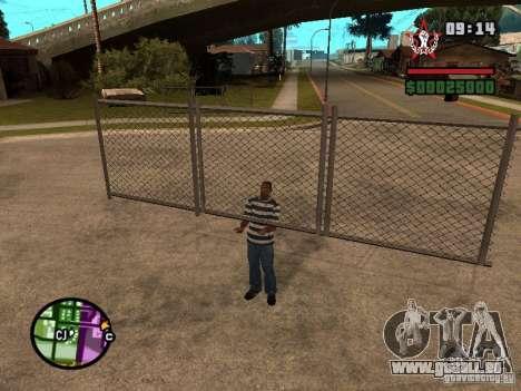 CJ-kleptomane pour GTA San Andreas quatrième écran