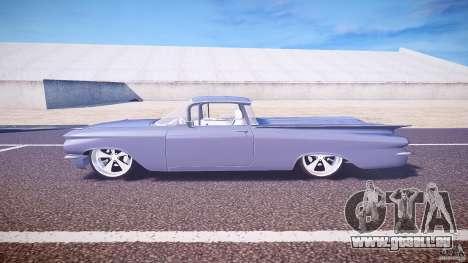 Chevrolet El Camino Custom 1959 für GTA 4 linke Ansicht