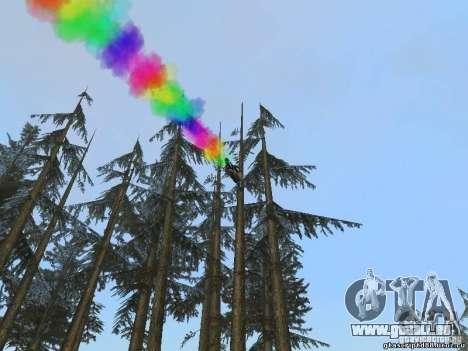 Bike Smoke pour GTA San Andreas troisième écran