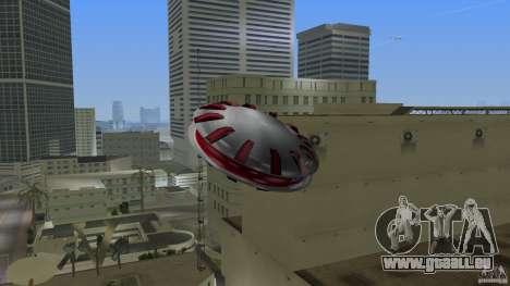 Ultimate Flying Object pour une vue GTA Vice City de la gauche