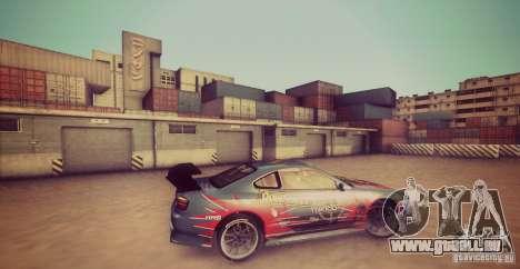 Tokyo Drift map pour GTA San Andreas deuxième écran