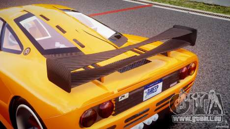 Mc Laren F1 LM v1.0 für GTA 4 obere Ansicht