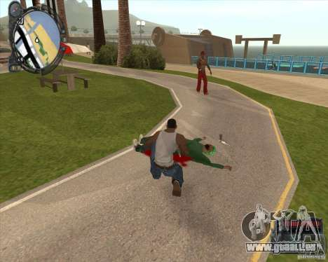 Real Weapons Drop Mod beta pour GTA San Andreas