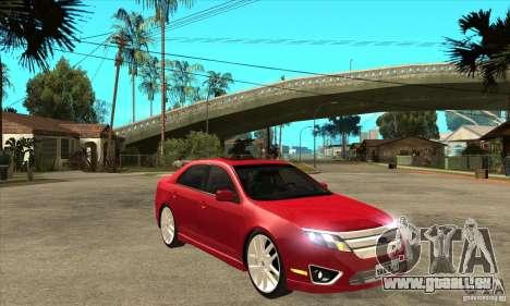 Ford Fusion Hybrid pour GTA San Andreas vue arrière