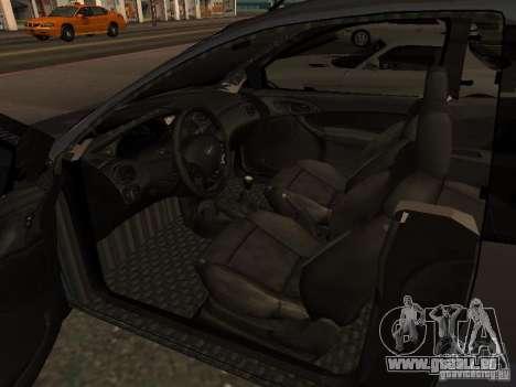 Ford Ka 1998 pour GTA San Andreas sur la vue arrière gauche