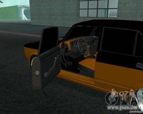VAZ 21053 tuning pour GTA San Andreas sur la vue arrière gauche