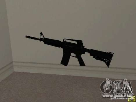 M4 MOD v1 pour GTA San Andreas
