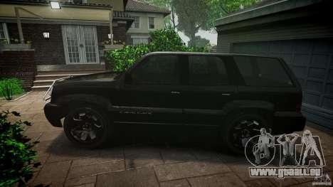 Cavalcade FBI car für GTA 4 linke Ansicht
