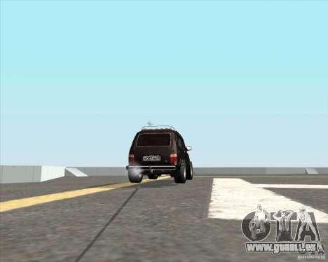 VAZ 21213 Offroad für GTA San Andreas zurück linke Ansicht