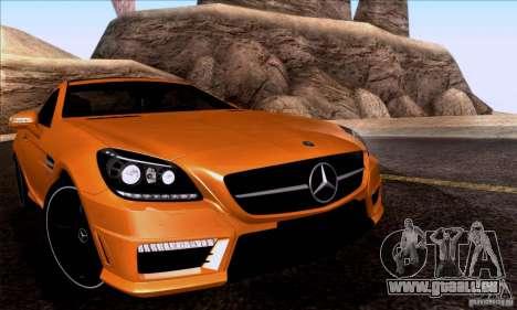 Mercedes Benz SLK55 R172 AMG pour GTA San Andreas