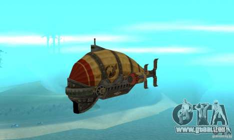 Dirigeable de TimeShift pour GTA San Andreas