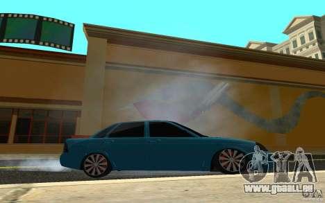 LADA 2170 Penza tuning pour GTA San Andreas vue arrière