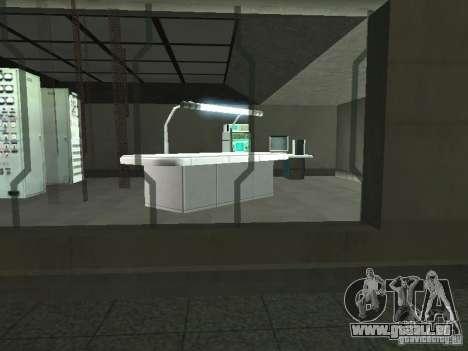 Espace ouvert 69 pour GTA San Andreas quatrième écran