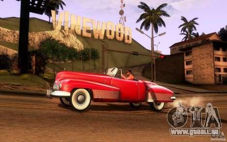 Buick Y-Job 1938 pour GTA San Andreas sur la vue arrière gauche