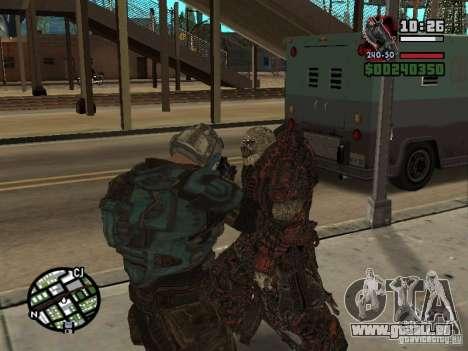 Lokast Theron Guard pour GTA San Andreas quatrième écran