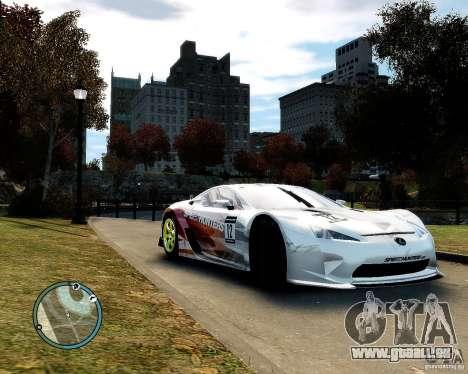 Lexus LFA Speedhunters Edition für GTA 4 linke Ansicht