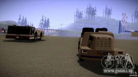 Air Tug from GTA IV pour GTA San Andreas sur la vue arrière gauche