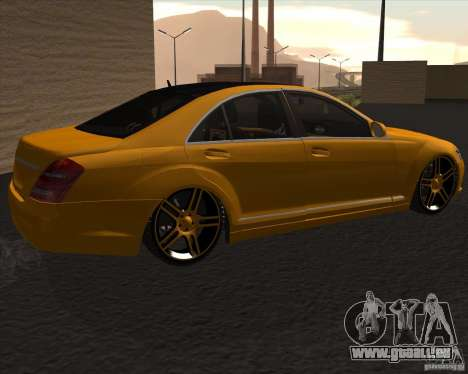 Mercedes Benz S600 Panorama by ALM6RFY für GTA San Andreas linke Ansicht