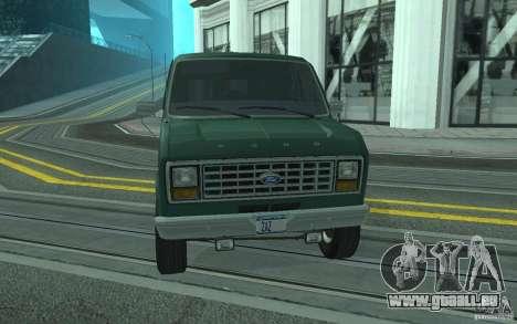 Ford E-150 Short Version v1 pour GTA San Andreas vue de côté