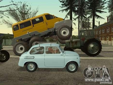 Gazelle 2705 swamp buggy pour GTA San Andreas laissé vue