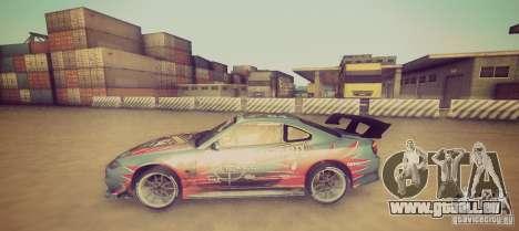 Tokyo Drift map pour GTA San Andreas troisième écran