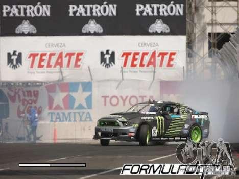 Écrans de chargement Formula Drift pour GTA San Andreas