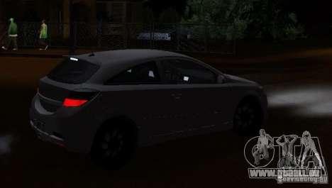 Opel Astra GSI pour GTA San Andreas laissé vue