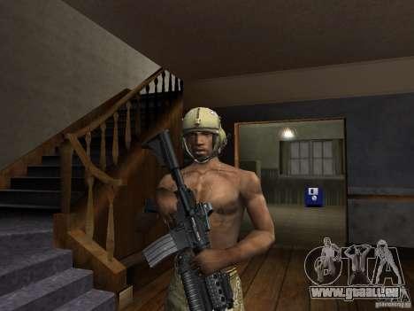 Chapeaux de Call of Duty 4: Modern Warfare pour GTA San Andreas deuxième écran