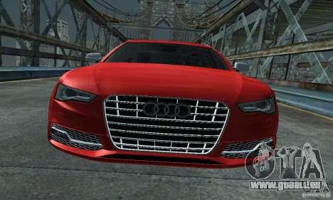 Audi A6 Avant Stanced für GTA San Andreas rechten Ansicht
